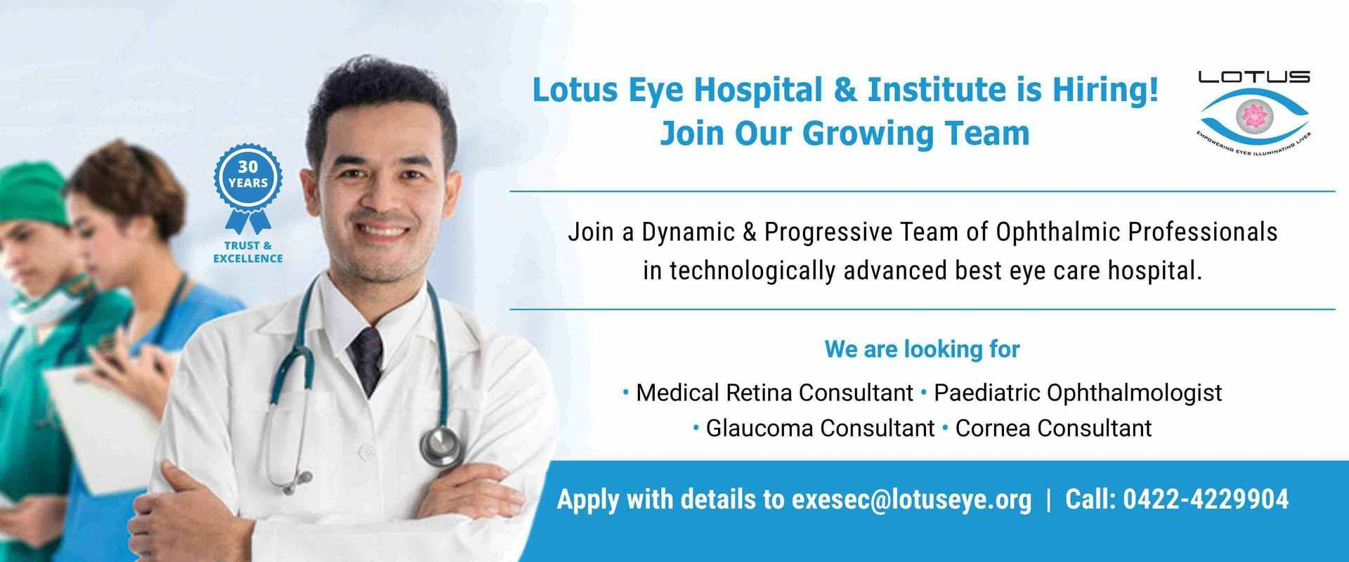 Best Eye Hospital in India | Lotus Eye Hospital and