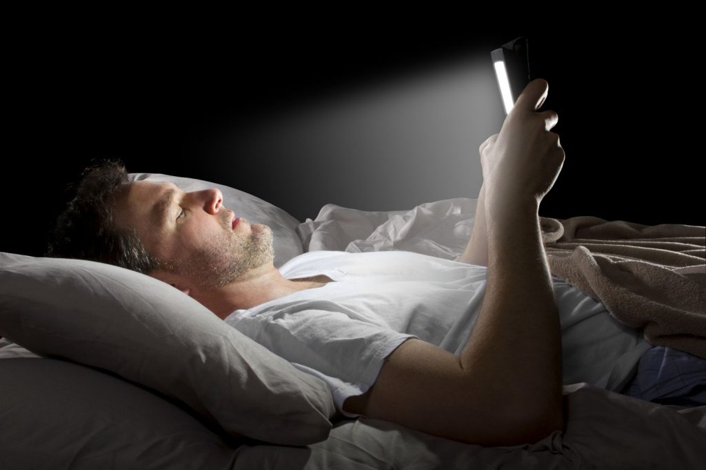Using Mobile at Night